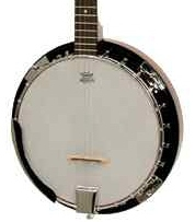 Ozark 2105G 5-string Banjo Wood Shell