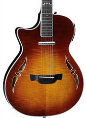 Crafter SA-TMVS Left Handed Slim Arch Series Electro-Acoustic Guitar