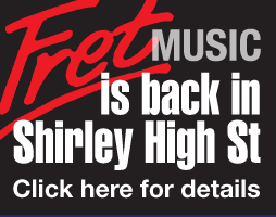 Fret Music is back in Shirley High St.